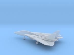 Grumman F-14 Tomcat (swept wings) in Smooth Fine Detail Plastic: 6mm