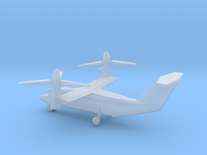 1/400 Scale AW609 Tilt Rotor Aircraft in Smooth Fine Detail Plastic