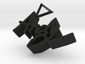 AndyCharm in Black Premium Versatile Plastic