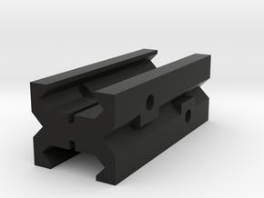 Female to Female Picatinny Mater/Adapter/Converter in Black Natural Versatile Plastic