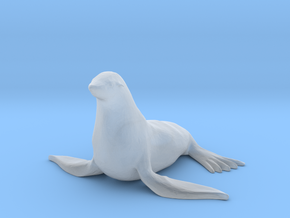 O Scale Seal in Smooth Fine Detail Plastic