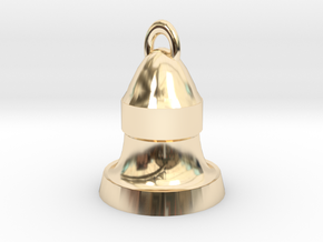 bell in 14K Yellow Gold