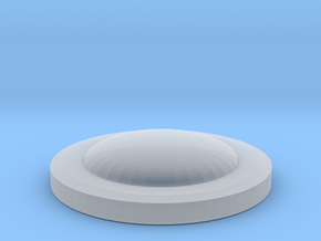 egg cup cover in Smooth Fine Detail Plastic