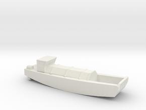 1/285 Scale British LCVP in White Natural Versatile Plastic