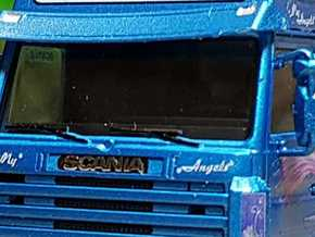 02 111 Spiegel für Scania 3er in Smoothest Fine Detail Plastic