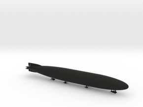 Zeppelin L70 of WW1 in Black Natural Versatile Plastic: 1:700