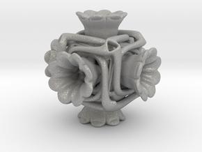 Cubeoctahedral flower  in Aluminum