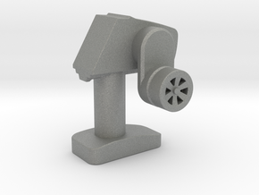 Mini-Fig Radiopost TS-401 in Gray PA12