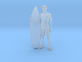Surfer Dude Shaun in Smoothest Fine Detail Plastic: 1:64 - S