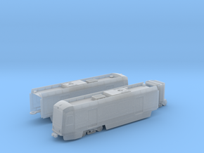 HO scale LA Metro P3010 display w filled windows in Smooth Fine Detail Plastic