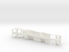 1/87 3 achs OSDS Trailer Ver.2 in White Processed Versatile Plastic