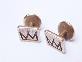 Oracle Cufflinks in Stainless Steel