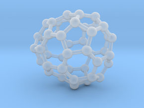 0670 Fullerene c44-42 c1 in Smooth Fine Detail Plastic
