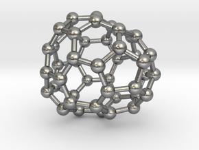 0675 Fullerene c44-47 c1 in Natural Silver