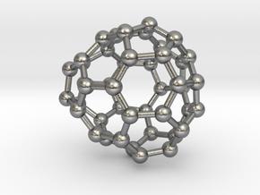 0679 Fullerene c44-51 c1 in Natural Silver