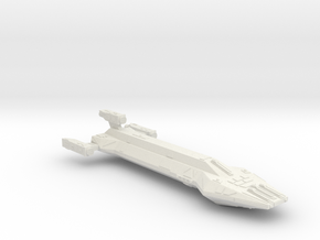 3788 Scale Hydran Mohawk New Heavy Cruiser CVN in White Natural Versatile Plastic