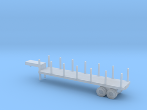 1/220 ScaleM270 Semitrailer Low Bed in Smooth Fine Detail Plastic