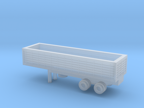 1/220 Scale M127 Trailer in Smooth Fine Detail Plastic