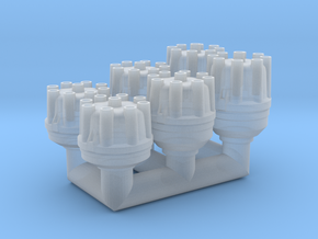 1/25th V8 Distributor Pack 1 in Smooth Fine Detail Plastic