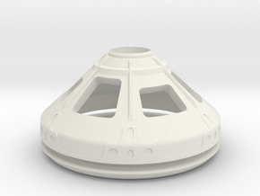 1/72 NASA/JPL MARS ASCENT VEHICLE CAPSULE R/BASE in White Natural Versatile Plastic