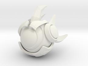 Probius in White Natural Versatile Plastic