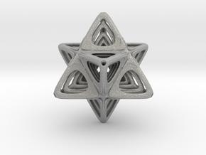 Sacred Merkaba nested in Aluminum