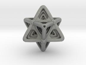 Sacred Merkaba Color sandstone in Gray Professional Plastic