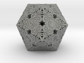 D20 Balanced - Gothic (Plastic) in Gray Professional Plastic