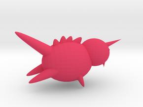怪獸 in Pink Processed Versatile Plastic
