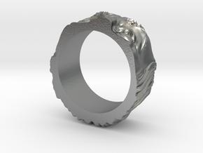 Franklin Ring original in Natural Silver: 5 / 49