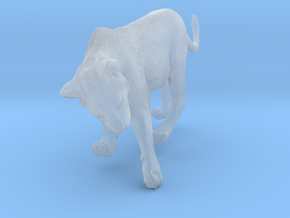 Lion 1:16 Cub reaching for something in Smooth Fine Detail Plastic