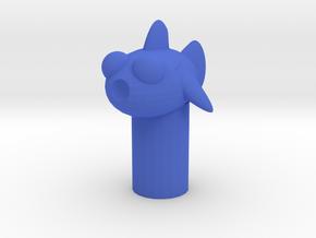 印章.stl in Blue Processed Versatile Plastic