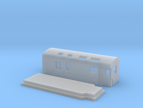 D20 – Mail wagon in Smooth Fine Detail Plastic