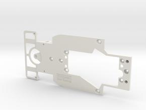 PSAV00101 Chassis for Avant Slot Kremer K8 in White Natural Versatile Plastic