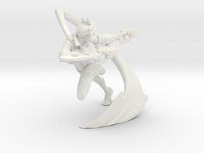 Printle V Femme 1073 - 1/24 - wob in White Natural Versatile Plastic