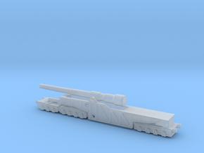 12 inch gun mk 9 railway artillery  1/200 in Smooth Fine Detail Plastic