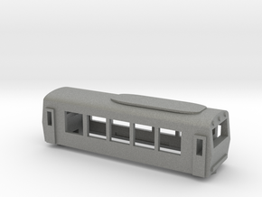OBB Class 5090 Railcar in Gray Professional Plastic