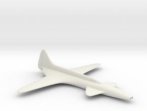 (1:100) Lockheed L-133  in White Natural Versatile Plastic