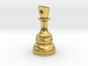 Ferz-Rider (Bishop) - [1,1] Classic in Polished Brass