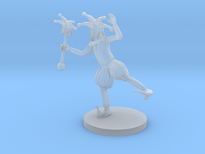 Court Jester in Smooth Fine Detail Plastic