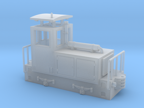 OD1 diesel shunter / diesel da manovra in Smooth Fine Detail Plastic