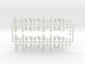 Mineral cluster  in White Natural Versatile Plastic