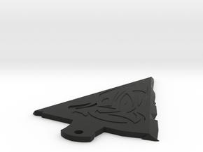 Arrowhead in Black Natural Versatile Plastic