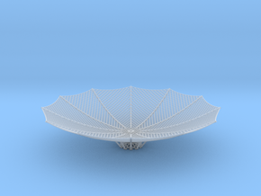 HGA-dish 1.6 mm in Smooth Fine Detail Plastic