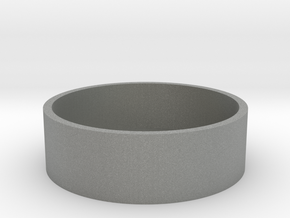 Simple Beauty Ring 22MM in Gray PA12