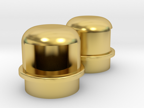 Navigation light Wellcraft SC38 Metal in Polished Brass: 1:10