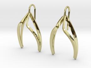 sWINGS Light Earrings. in 18K Gold Plated