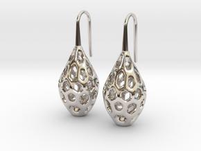 HONEYBIT Earrings.  in Platinum