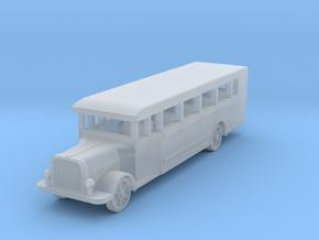 Saurer polish 1939 bus 1:160 in Smooth Fine Detail Plastic