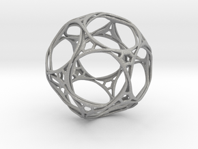 Looped docecahedron in Aluminum
